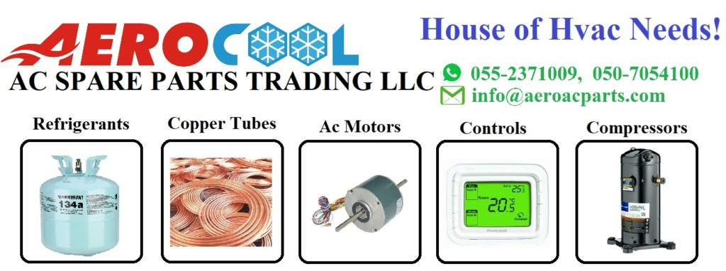 Ac Spare Parts Store in Dubai, Sell all hvac parts  – Hvac